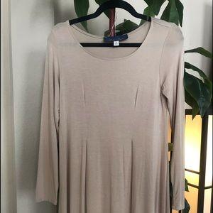 """3/4 Sleeve """"T-shirt"""" Dress"""